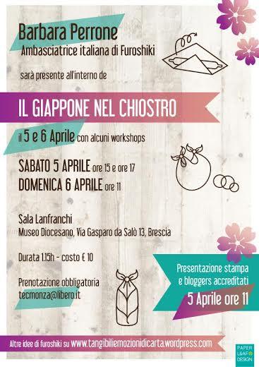 Furoshiki evento Brescia