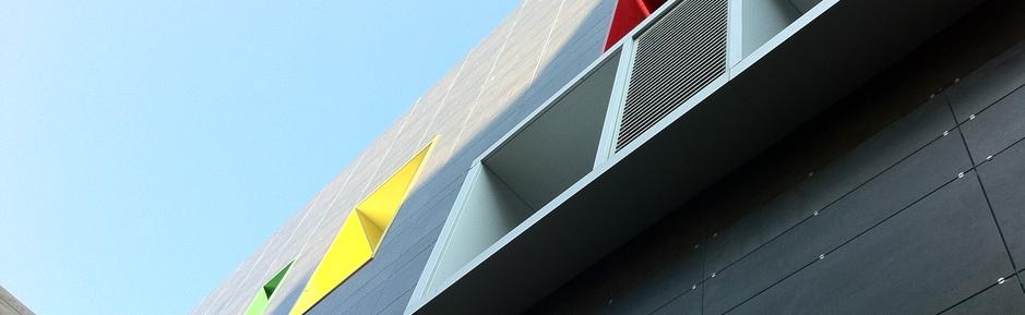 Particolare dell'edificio