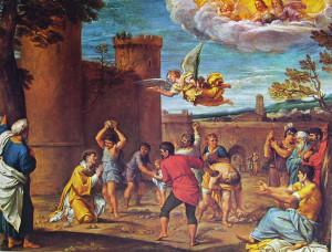 Martirio di Santo Stefano, di Annibale Carracci