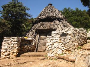 Un tipico Cuile del Supramonte di Dorgali  (foto della cooperativa Ghivine)