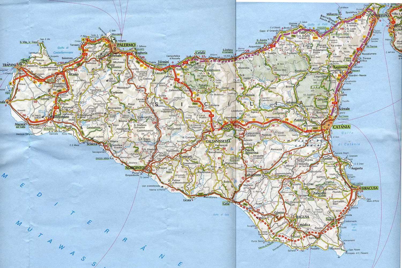 Cartina Politica Della Sicilia.Sicilia Strutture Ricettive Turisticamente Sostenibili