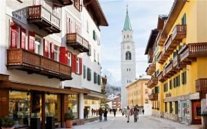 Il centro di Cortina (www.blitzquotidiano.it)