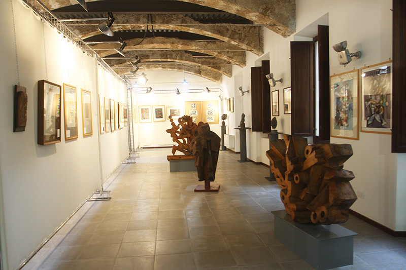 Sala della Fondazione Mastroianni di Arpino