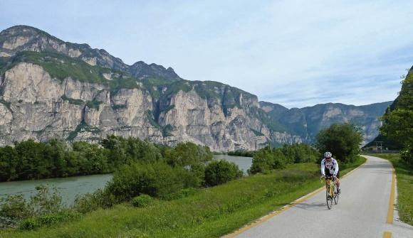 Pista ciclabile Valle dell'Adige (visittrentino.it)