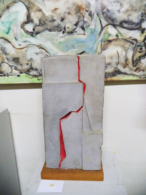 Ugo Guidi, Figura Ferita (1974; Forte dei Marmi, Museo Ugo Guidi)