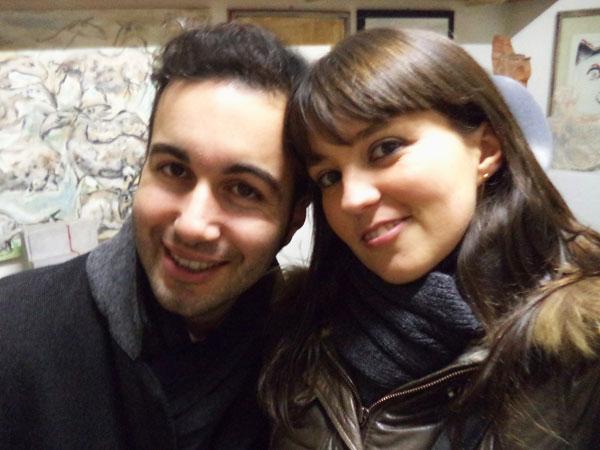 Federico e Ilaria al Museo Ugo Guidi