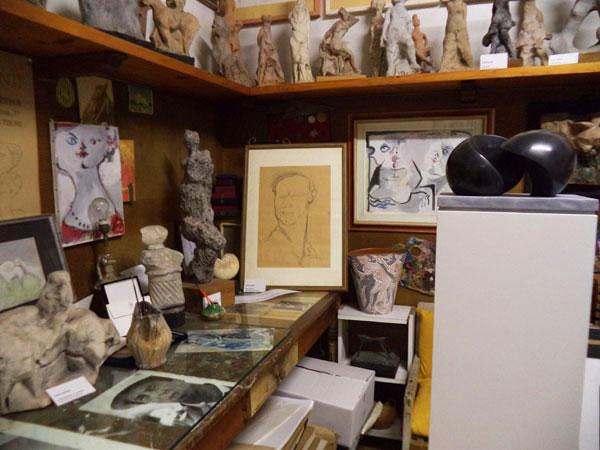 Museo Ugo Guidi, particolare dello studio