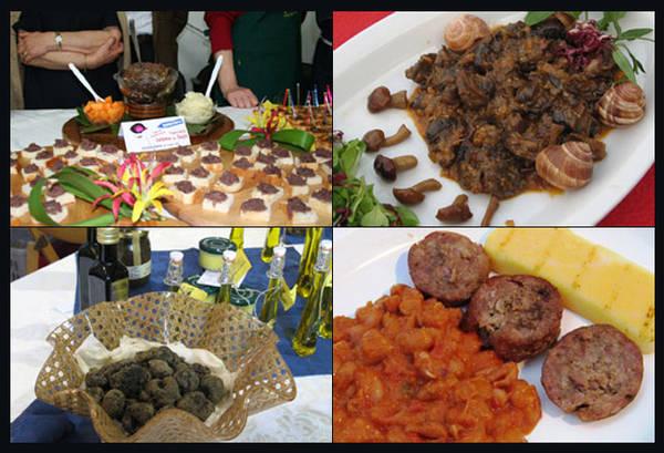 Piatti tipici di sagre italiane - www.ansa.it