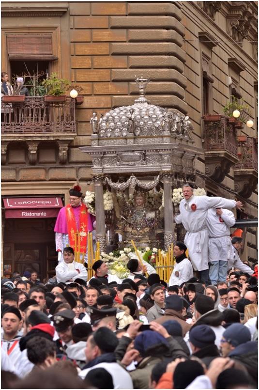 La festa della patrona della città di Catania: Sant'Agata
