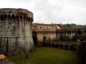Sarzana, la Fortezza Firmafede
