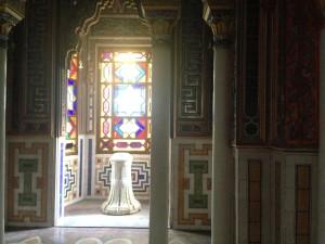 immagine con interno del castello