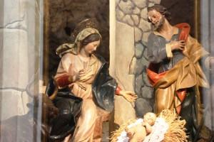 La sacra famiglia Scicli Presepe del Padula