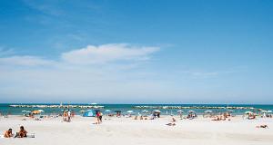La spiaggia di Bellaria – www.turismhotels.it