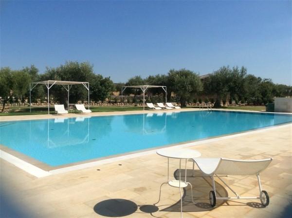 2. La piscina