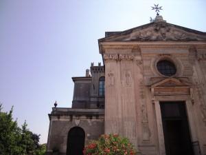 gran priorato cavalieri di Malta_facciata chiesa