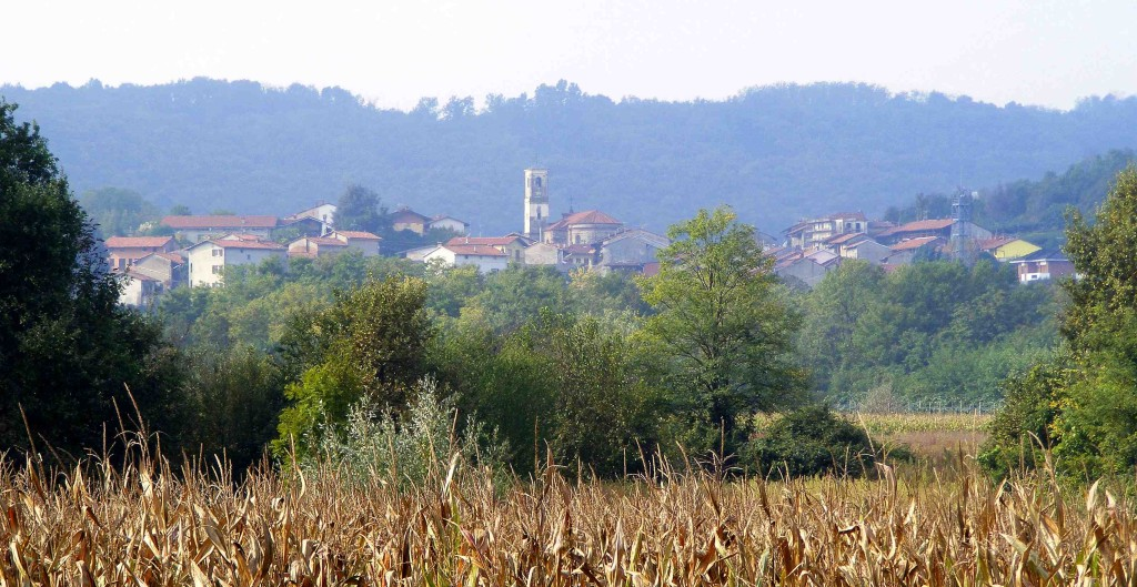 Panorama area Canavese, comune di Cossano Canavese, foto tratta da it.wikipedia.org