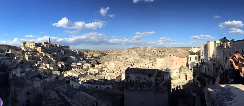 Panoramica di Matera