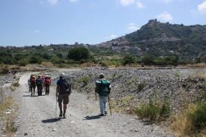 Un momento della 17^ Tappa che da Castroreale arriva a Santa Lucia del Mela
