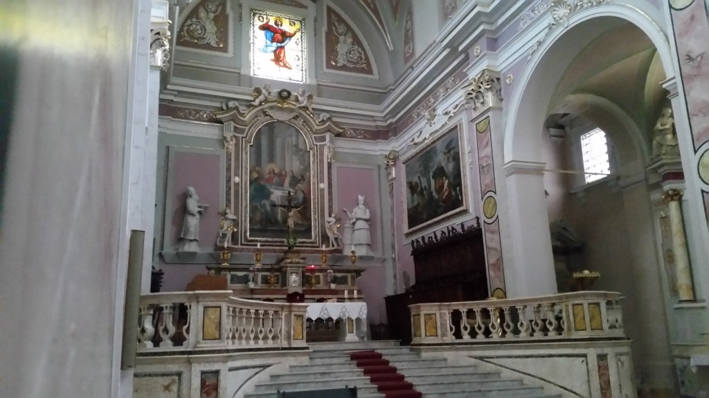 l'interno di Santa Maria Maggiore