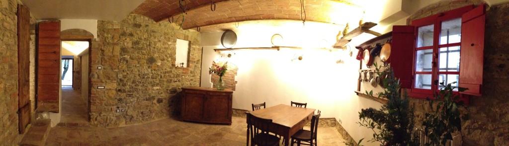 La sala comune nel cuore antico della casa