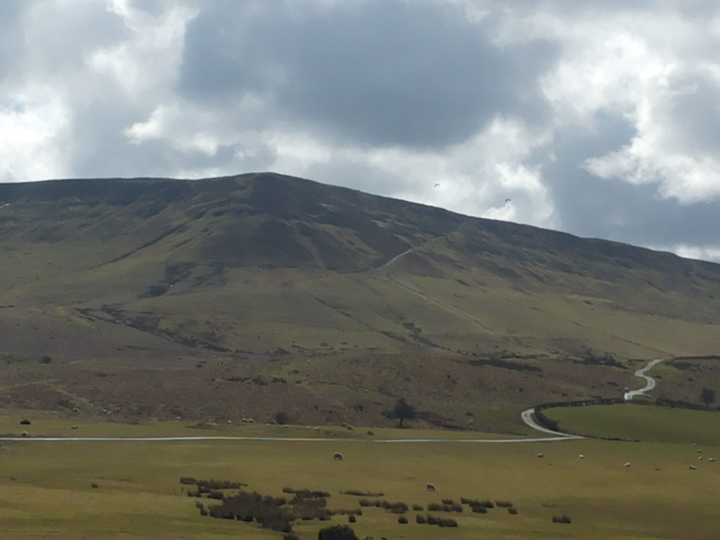 The black mountain