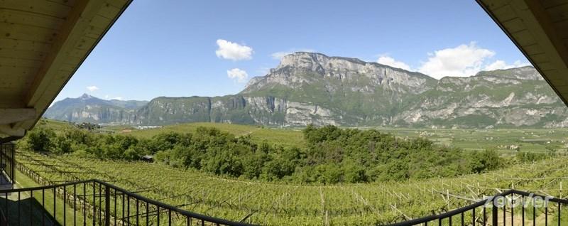 vista-sul-monte-Bondone-dal-balcone