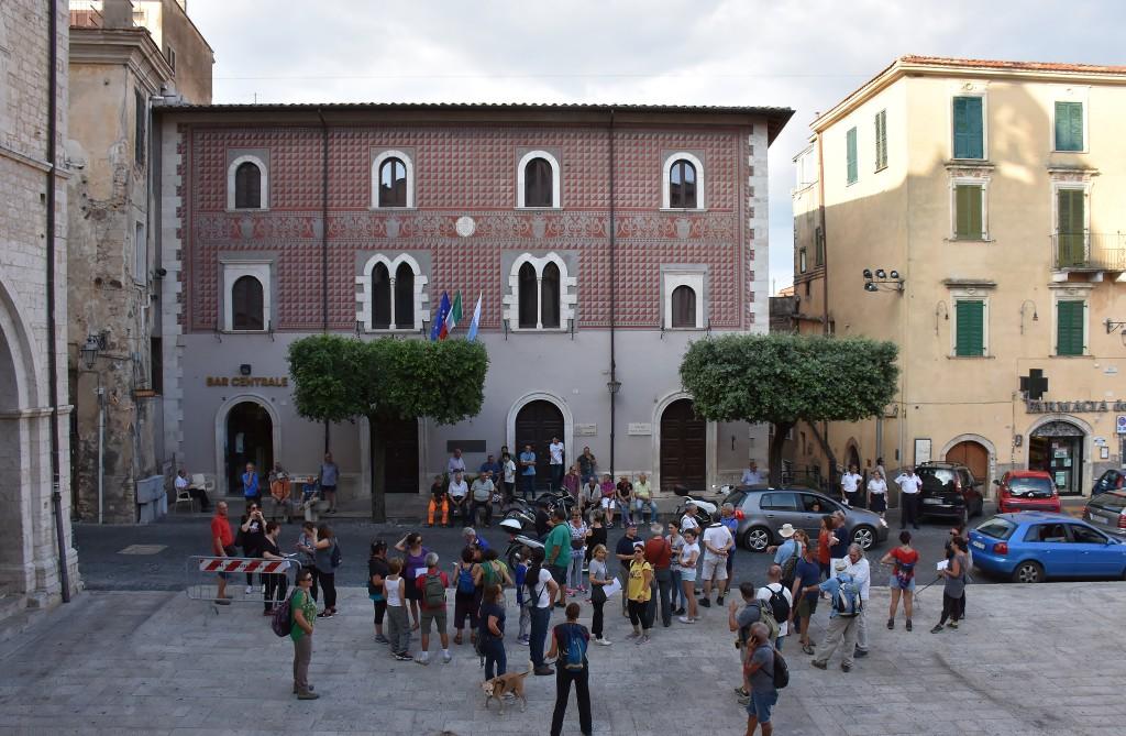 Palazzo Palazzo Valeriani Guarini Antonelli, oggi sede del Museo Archeologico