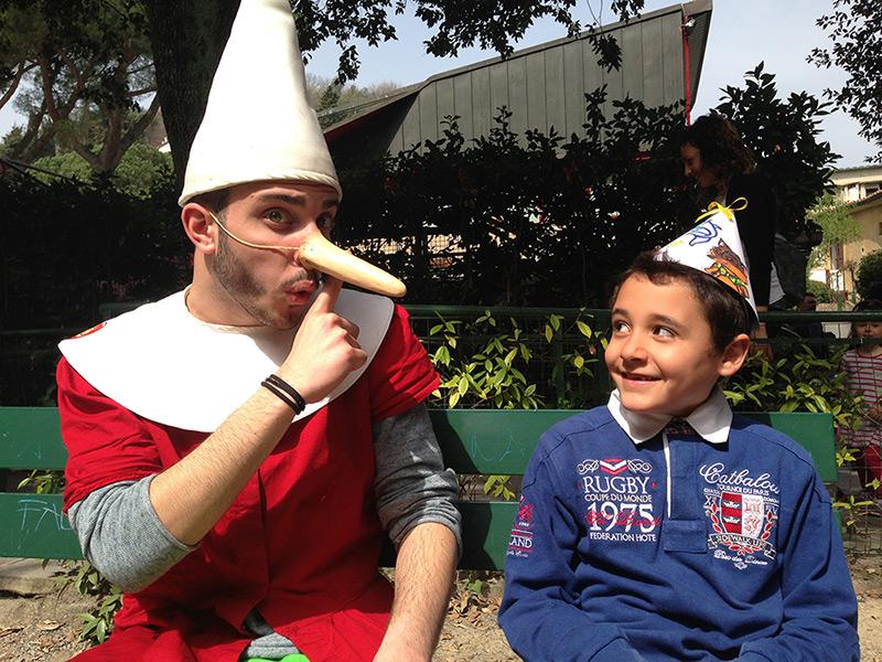 Con Pinocchio al Capodanno delle Fiabe