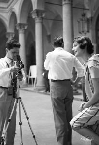 1958_A1496: Luglio 1958, Moda a Palazzo Strozzi© Archivio Foto Locchi.
